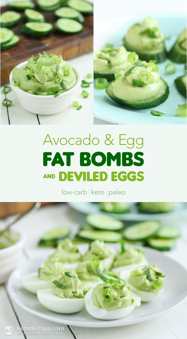 |Avocado & Egg Fat Bombs, Deviled Eggs and Giveaway!