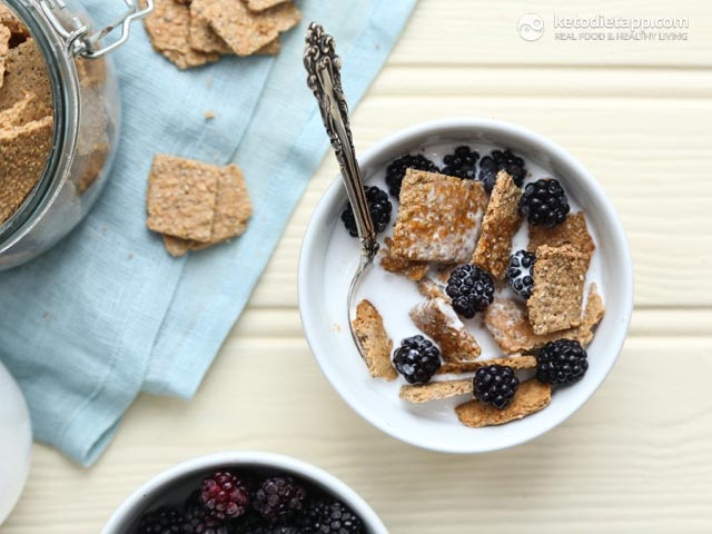 Allergy Free Healthy Keto Cereal The Ketodiet Blog