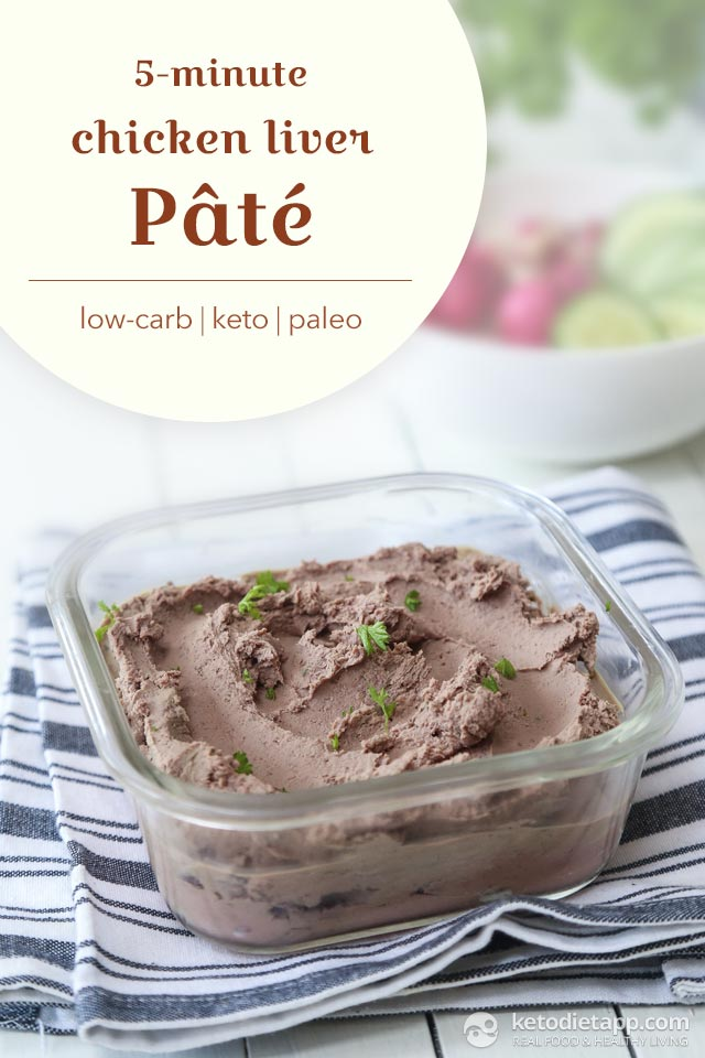 Book Review: The Ultimate Paleo Cookbook (5-Minute Chicken Liver Pâté)