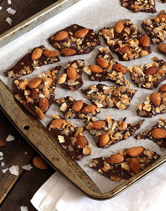 |Keto Salted Almond & Coconut Bark