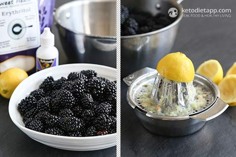 Sugar-Free Blackberry Chia Jam