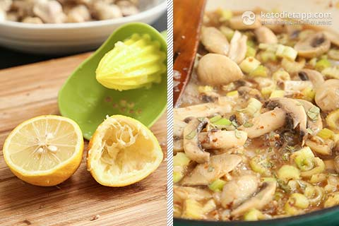 |Low-Carb Chicken Fricassee