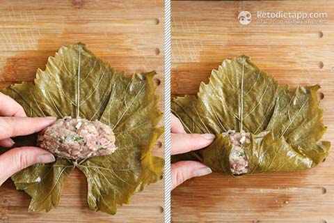 |Keto Greek Dolmades with Avgolemono