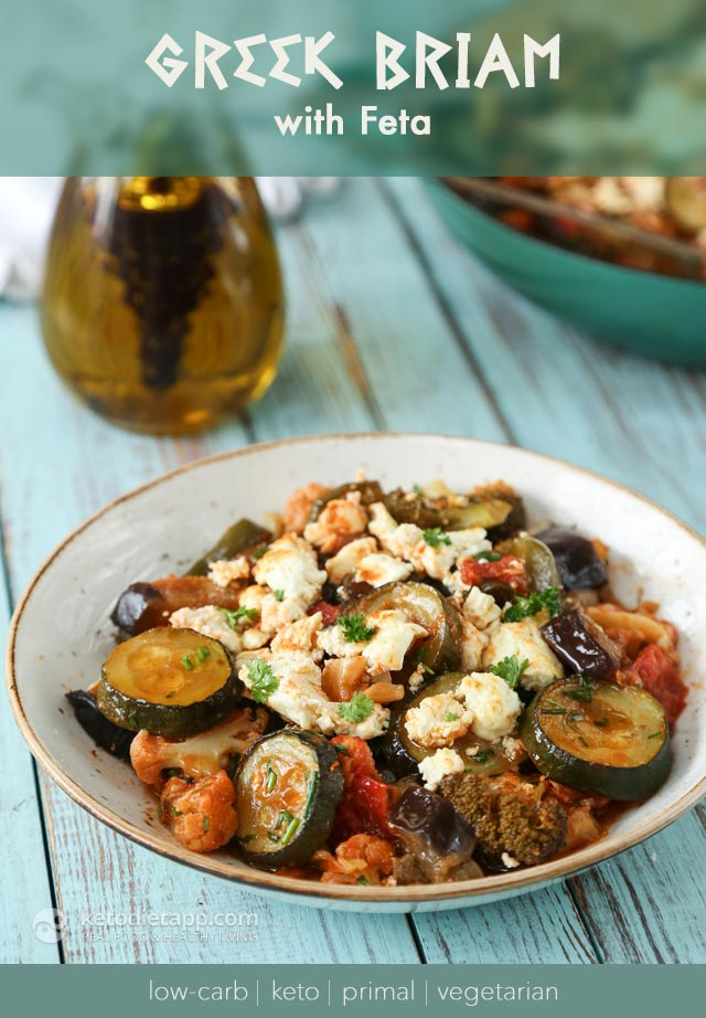 Low-Carb Vegetarian Greek Briam
