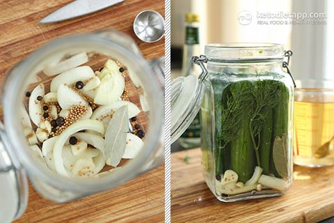 |Low-Carb Refrigerator Pickles