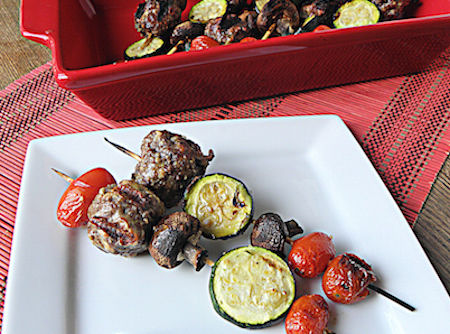 |33 Low-Carb Skewers to Make This Summer