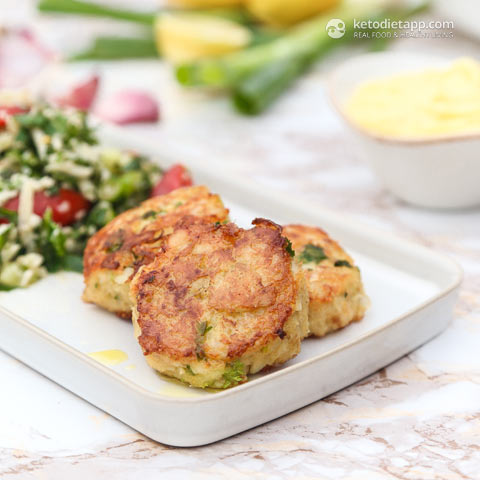 |Keto Fish Cakes with Aioli