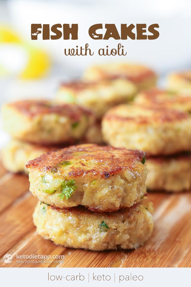 High Fat Low Carb Fish Cakes