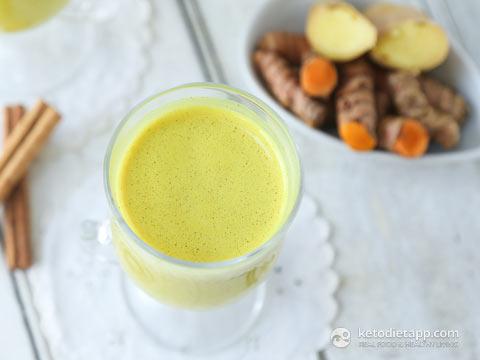 Keto Golden Turmeric Milk