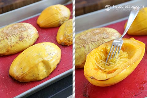 how to cook spaghetti squash the video