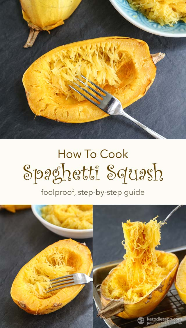 How To Cook Spaghetti Squash The Ketodiet Blog