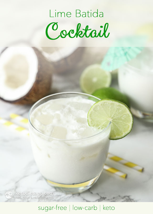 |Low-Carb Lime Batida Cocktail