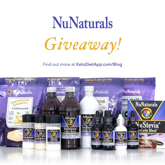 Product Review and Giveaway: NuNaturals