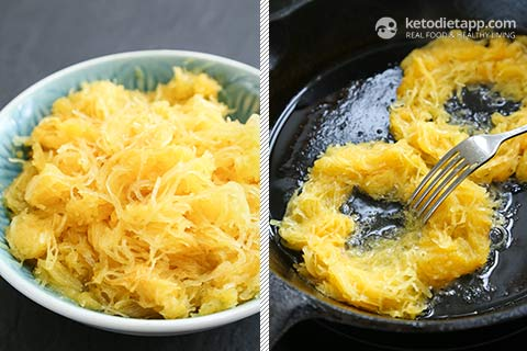 Low-Carb Spaghetti Squash Breakfast Nests