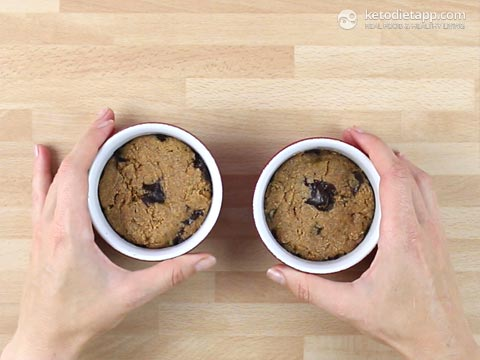 |2-Minute Keto Chocolate Chip Cookie