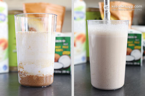 Keto Almond & Maca Smoothie