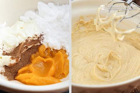 Healthy Keto Halloween Cupcakes