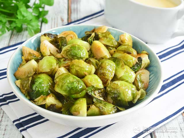 Low-Carb Buttered Brussels Sprouts