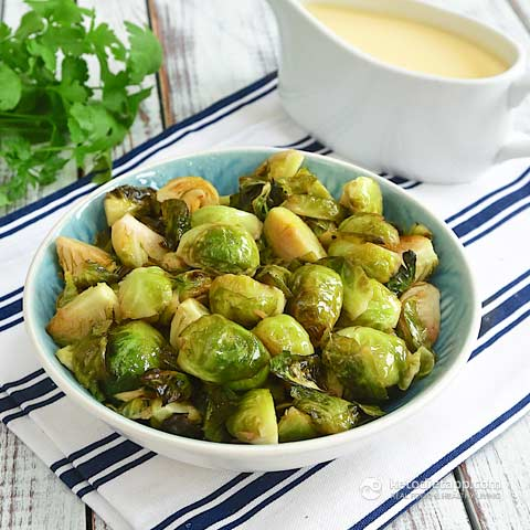 Buttered Brussels Sprouts