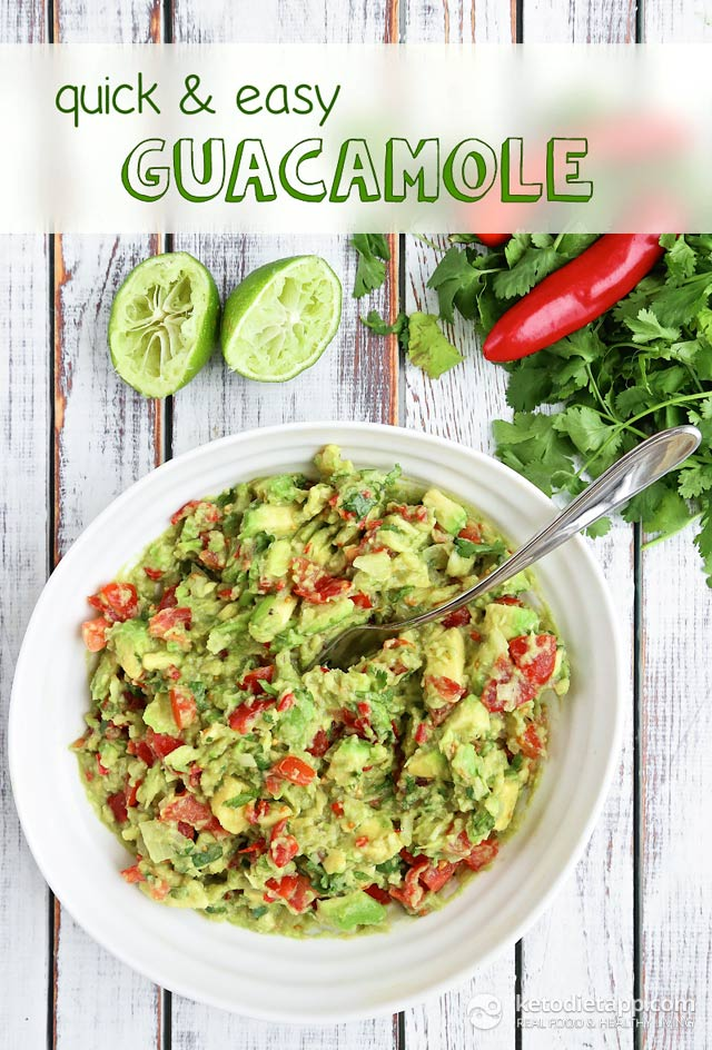 Quick & Easy Guacamole