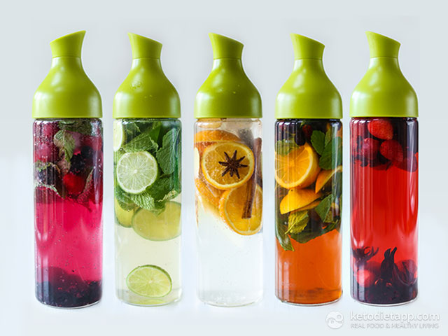 Naturally Flavored Water 5 Ways