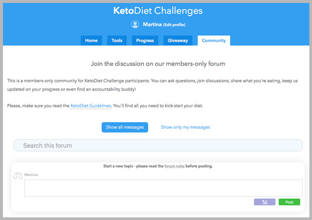 |30-Day January KetoDiet Challenge