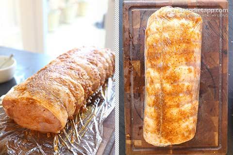 Keto Ginger Spiced Pork Roast