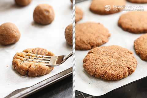 |Keto Glazed Anise Holiday Cookies