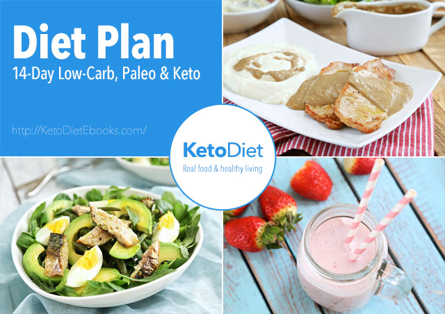 2 Week Grab & Go Keto Paleo Diet Plan