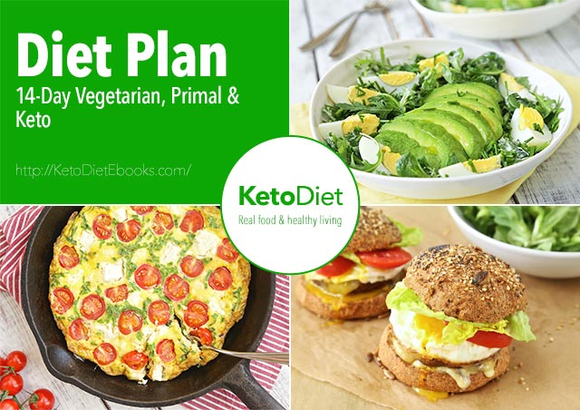 2 Week Vegetarian Keto Diet Plan | KetoDiet Blog