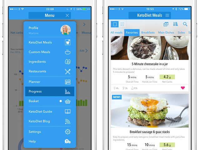 |The New KetoDiet Universal iOS App