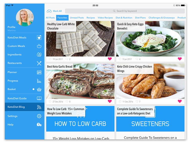 The New KetoDiet Universal iOS App