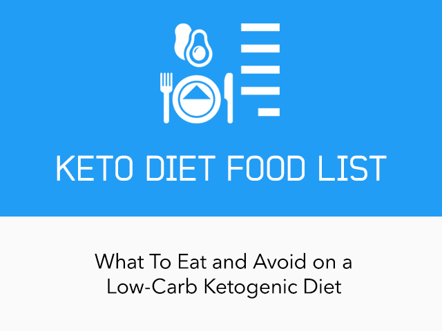 |Complete Keto Diet Food List: What to Eat and Avoid