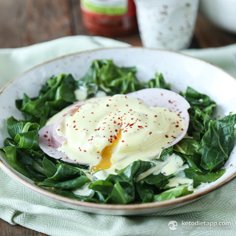 Quick & Easy Keto Eggs Benedict