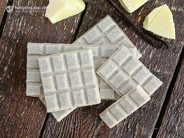 Healthy Low-Carb White Chocolate