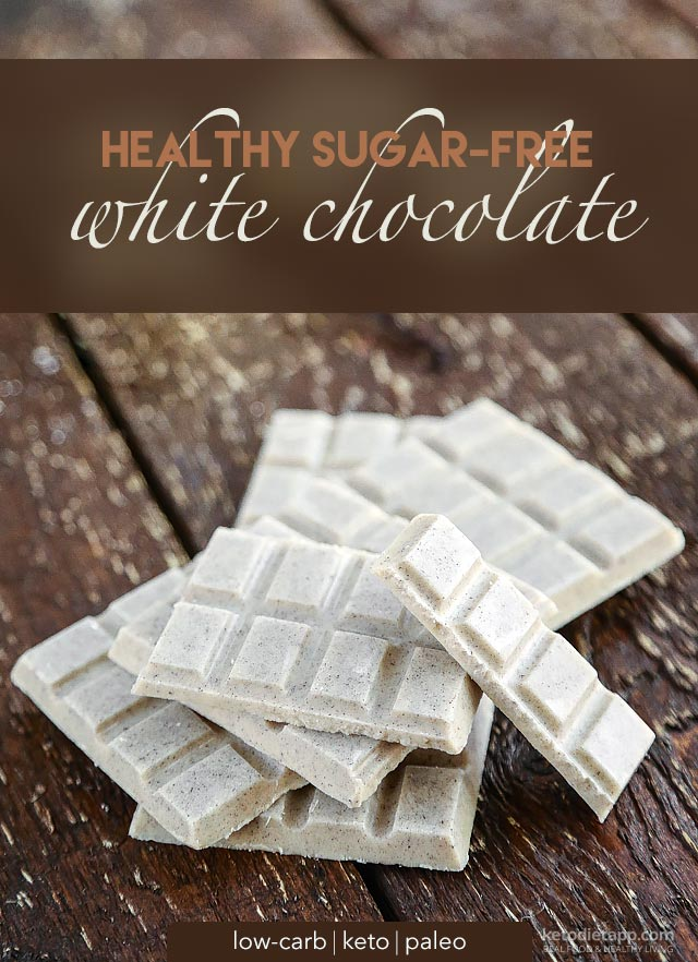 |Healthy Low-Carb White Chocolate
