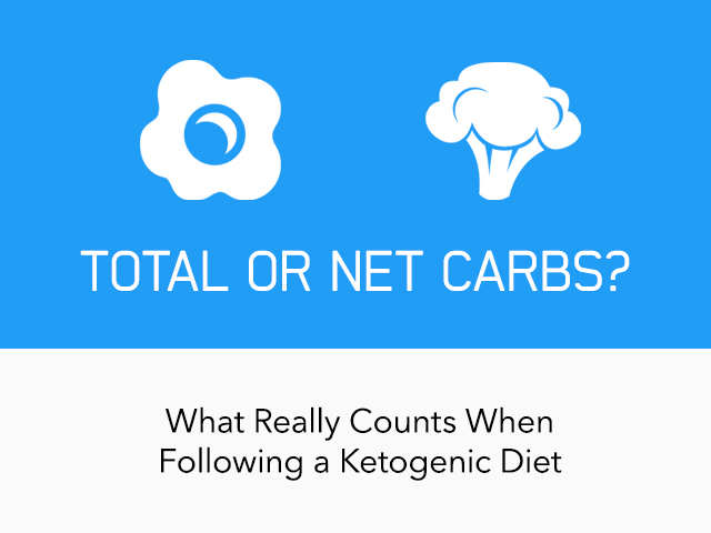 keto diet net or total carbs