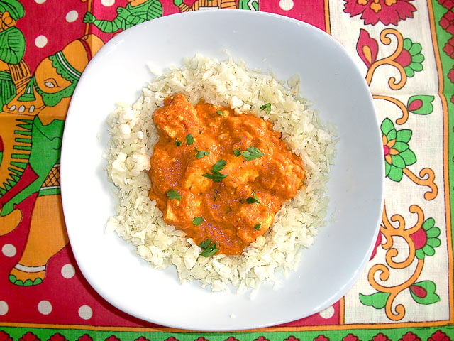 Low-Carb Paneer Makhani