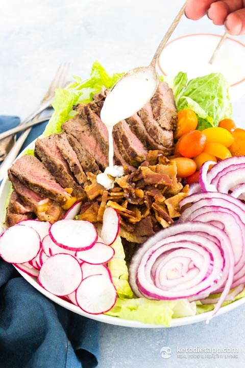 Bistro Steak Salad with Horseradish Dressing