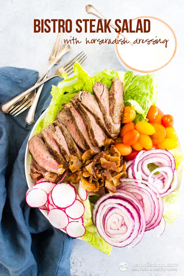 Bistro Steak Salad with Horseradish Dressing