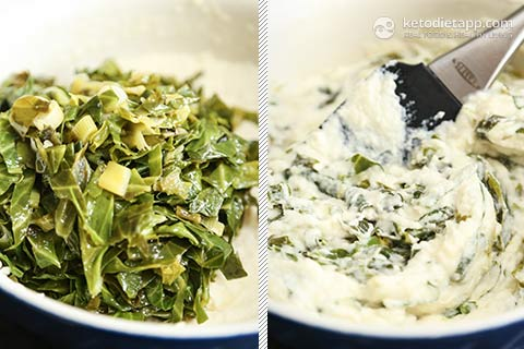 Healthy Low-Carb Colcannon