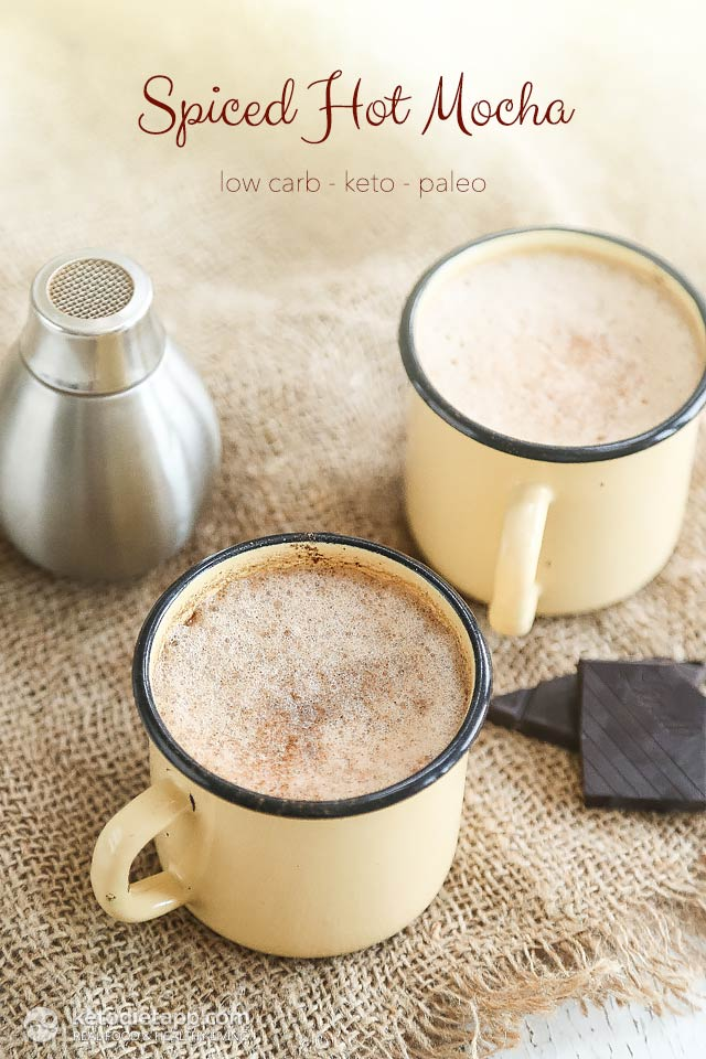 Keto Spiced Hot Mocha