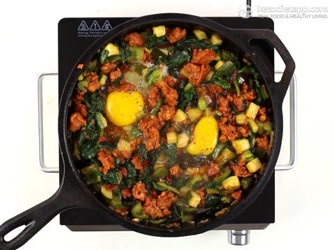 Keto Mexican Breakfast Hash