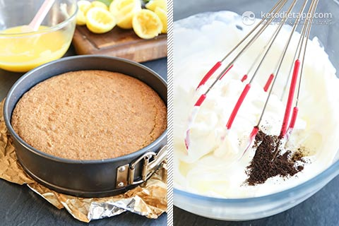 Zesty Low-Carb Lemon Cake