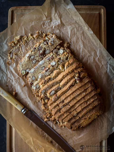 Healthy Keto Almond Biscotti