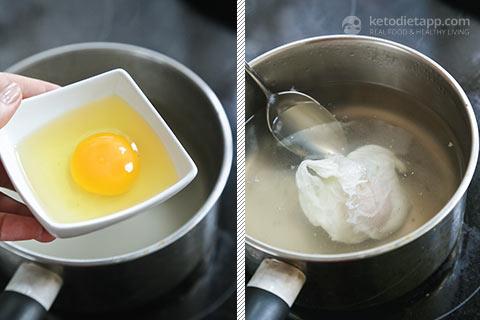 Keto California Eggs Benedict