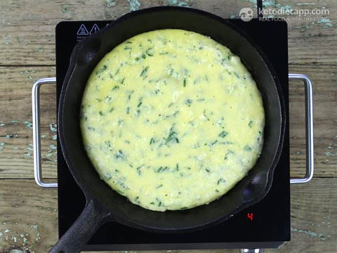 Savory Keto Cheese Pancake