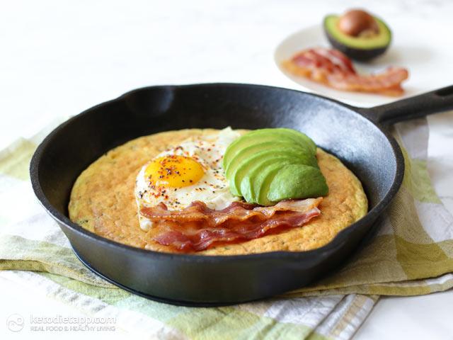 Savory Keto Cheese Pancakes