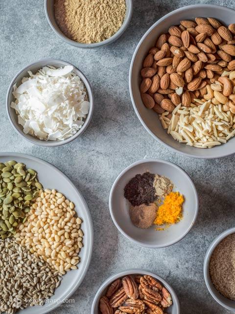 Secret Ingredient Low-Carb Granola