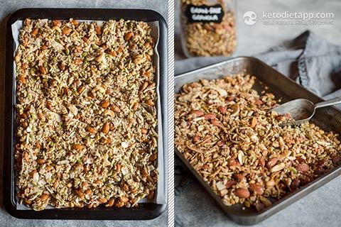 Secret Ingredient Low Carb Granola Ketodiet Blog